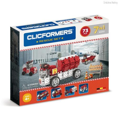 Конструктор Rescue set 73 детали - Clicformers
