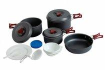 Набор туристической посуды Tramp алюминий TRC-026 - Tramp