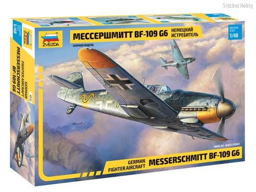 Модель для склеивания ZVEZDA 4816 Самолёт Мессершмитт BF-109 G6 - Zvezda