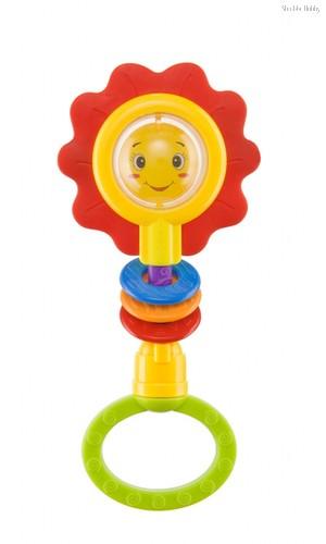 Погремушка HAPPY BABY 330370 FLOWER TWIST - Happy Baby