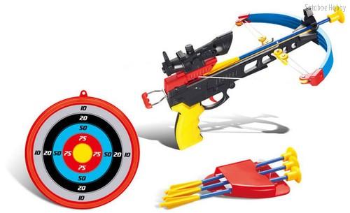 Игрушечное оружие Арбалет со стрелами - TARG
