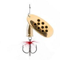 Блесна Premier Fishing Gidra Bug Black №5, 15г. GO с мухой PR-SPRH12B-5GO-B, 15 г - Тонар