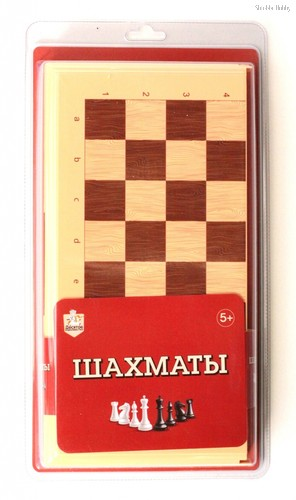Настольная игра ДЕСЯТОЕ КОРОЛЕВСТВО 3890 Шахматы (беж) - Десятое королевство