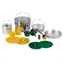 Набор туристической посуды Helios алюминий HS-NP 010048-00 - Тонар