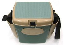 Ящик для зимней рыбалки A-elita малый (пластик, органайзер, отдел. под удочку) - TSP