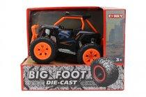 Машина пластиковая FUNKY TOYS FT61062 Багги die-cast, инерционный, оранжевый, 1:24