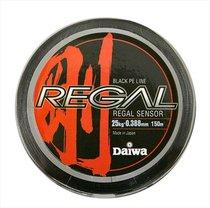 Леска плетеная Daiwa Regal Sensor - B 150м 0,132мм черная - Daiwa