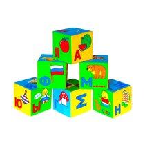 Кубики МЯКИШИ 206 Умная азбука - Мякиши
