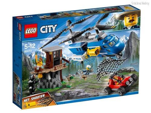 Конструктор LEGO 60173 City Police Погоня в горах - Lego