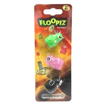 Доп. набор CATCHUP TOYS FP-002F-KPD Floopiz Figures (Black, Pink, Green) - Catchup Toys