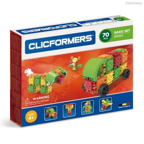 Конструктор Basic Set 70 деталей - Clicformers