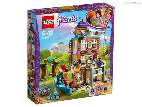 Конструктор LEGO 41340 Friends Дом дружбы - Lego