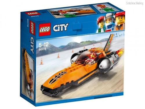 Конструктор LEGO 60178 City Great Vehicles Гоночный автомобиль - Lego
