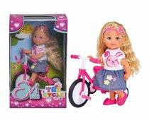 Кукла EVI 5733347 на трехколесном велосипеде - Evi Love