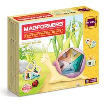 Магнитный конструктор Magformers My First Pastel 30 Set - Magformers