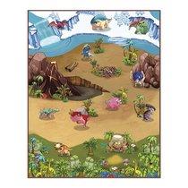 Интерактивная игра KNOPA 657043 коврик Динопарк 3D - Knopa