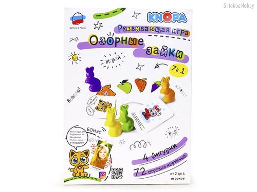 Развивающая игра KNOPA 87071 Озорные зайки - Knopa