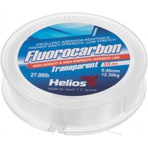 Леска флюорокарбон Helios Fluorocarbon 0,40мм 30м Transparent HS-FCT 40/30 - Тонар
