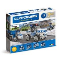 Конструктор Police set 72 детали - Clicformers
