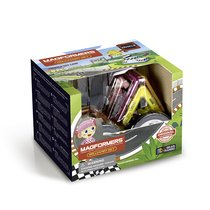Магнитный конструктор MAGFORMERS 707017 Rally Kart Set (Girl) - Magformers