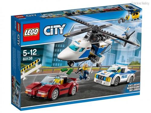 Конструктор LEGO 60138 City Стремительная погоня - Lego