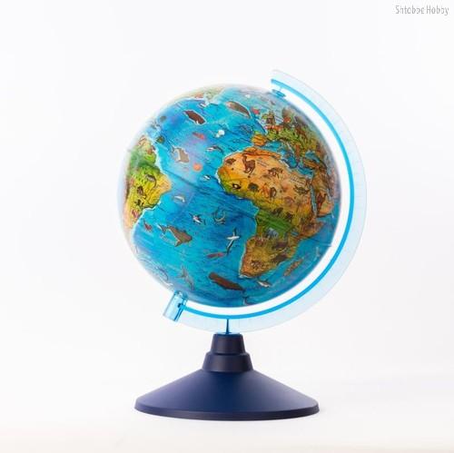 Глобус GLOBEN Ве012500268 Зоогеографический ( батарейки) 250 - Globen