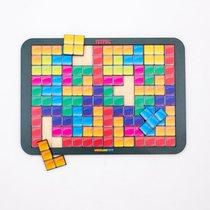 Логическая игра WOODLANDTOYS 065107 Тетрис большой цветная мозайка - WOODLAND