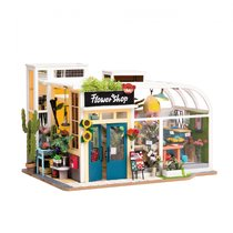 Румбокс ROBOTIME TD03W Цветочный магазин - Robotime