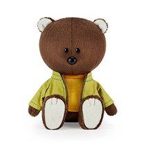 Мягкая игрушка BUDI BASA LE15-072 Медведь Федот в оранжевой майке и курточке