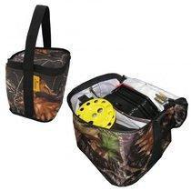 Набор жерлиц зимних 10 шт. Тонар ЖЗ-05 в сумке, подставка 210, катушка 63 мм - Тонар