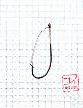 Крючок Koi Weedless Single Hook № 1/0 , BN, незацепляйка (10 шт.) KH5241-1/0BN - Koi