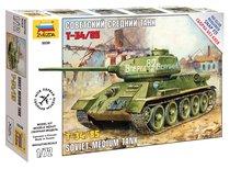 Модель для склеивания ZVEZDA 5039 Танк Т-34/85 - Zvezda