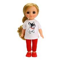 Кукла ВЕСНА В3970 Ася с бульдожкой