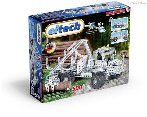 Конструктор Лесовоз 500 деталей - Eitech