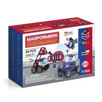Магнитный конструктор MAGFORMERS 717001 Amazing Police & Rescue Set - Magformers