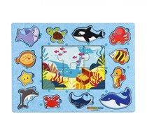 Рамка-вкладыш WOODLANDTOYS 144103 В океане - WOODLAND
