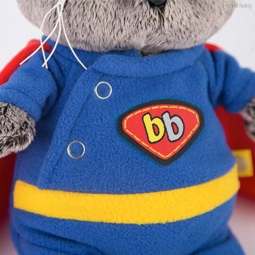Мягкая игрушка BUDI BASA BB-024 Басик BABY в костюме супермена - Буди Баса