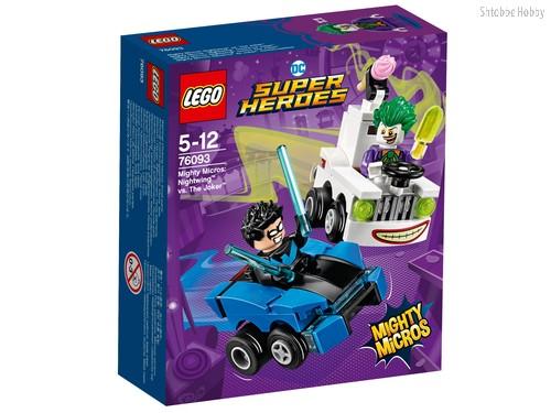 Конструктор LEGO 76093 Super Heroes Mighty Micros: Найтвинг против Джокера - Lego