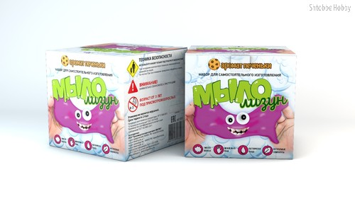 Мыло-лизун. Печенька - Инновации Для Детей