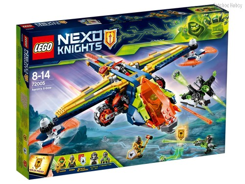 Конструктор LEGO 72005 Nexo Knights Аэро-арбалет Аарона - Lego