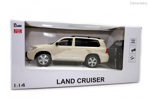 Машина на ру BALBI HQ20135 Toyota land cruiser 1:14 бежевый - Balbi