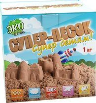 Песок ИННОВАЦИИ ДЛЯ ДЕТЕЙ 843 натуральный 1 кг