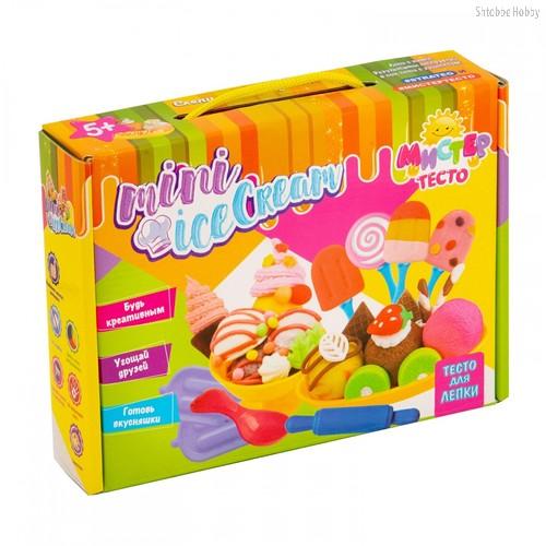 Масса для лепки STRATEG 71202 мистер тесто mini ice cream - Strateg