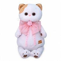 Мягкая игрушка BUDI BASA LK27-052 Ли-Ли с розовым бантом 27 см