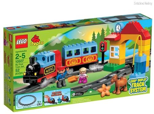Конструктор LEGO 10507 Duplo Мой первый поезд - Lego
