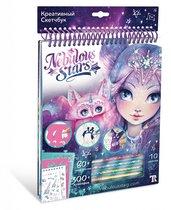 Набор для творчества NEBULOUS STARS 11101 Креативный Скетчбук фиолетовый - Nebulous Stars