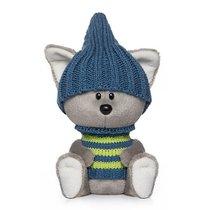 Мягкая игрушка BUDI BASA LE15-021 Волчонок Вока в шапочке и свитере - Буди Баса