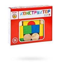 Конструктор ТОМИК 6678-26 Цветной 26 дет - Томик