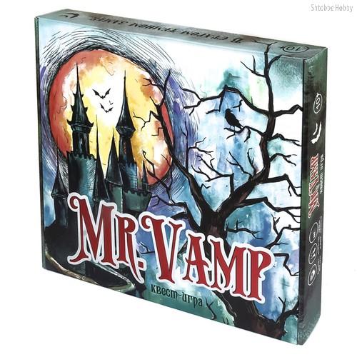 Настольная игра STRATEG 30616 Mr.Vamp - Strateg