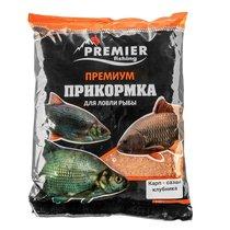 Прикормка Premier Fishing Премиум Карп-Сазан Клубника 900г PR-P-ССS - Тонар